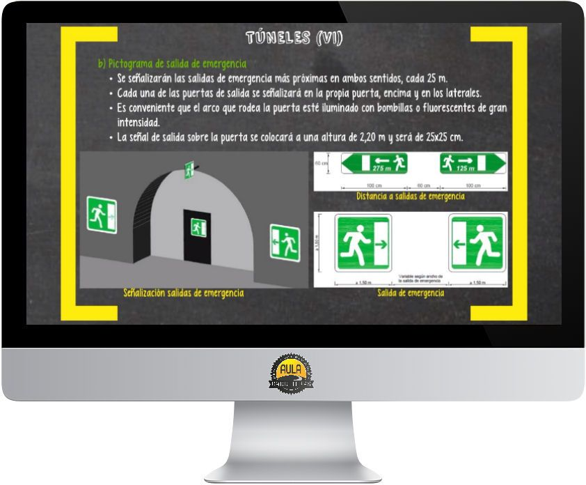 Señalización circunvalaciones y túneles