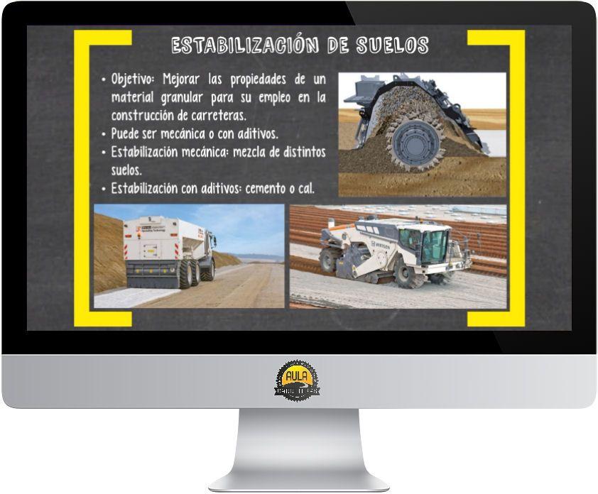 Firmes estabilización de suelos