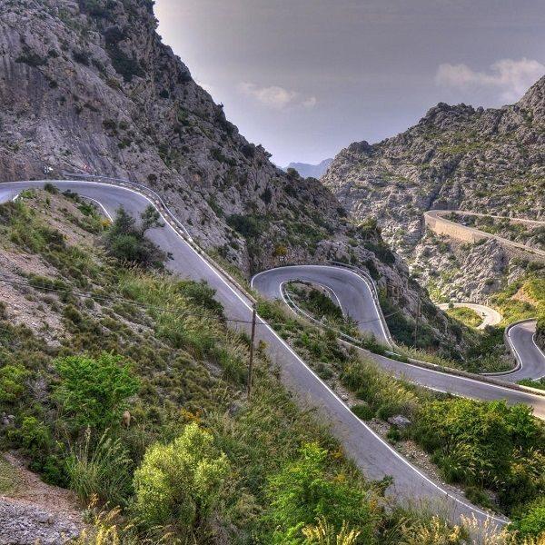 curso trazado de carreteras
