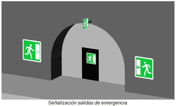 señalización salida de emergencia 02