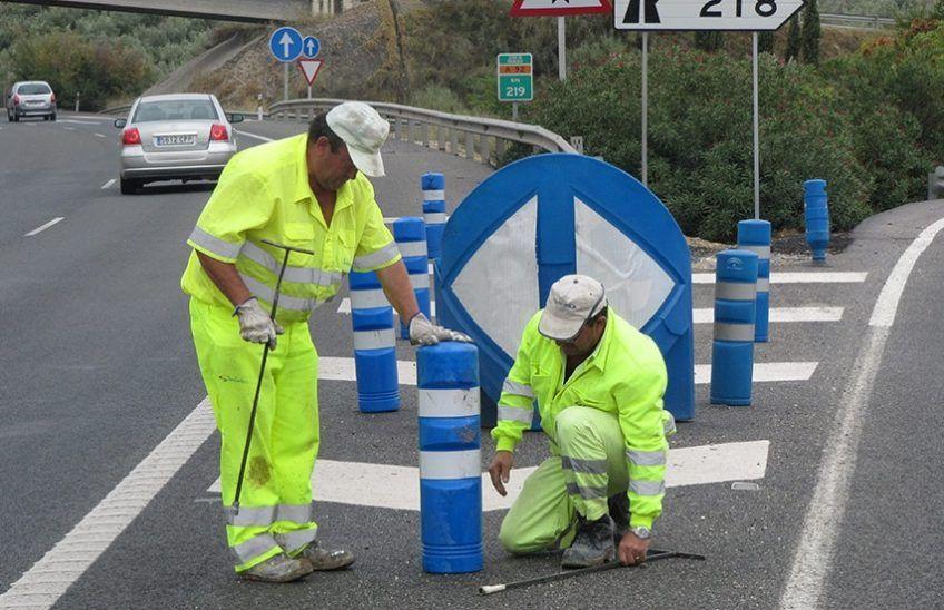 Elementos de balizamiento de carreteras